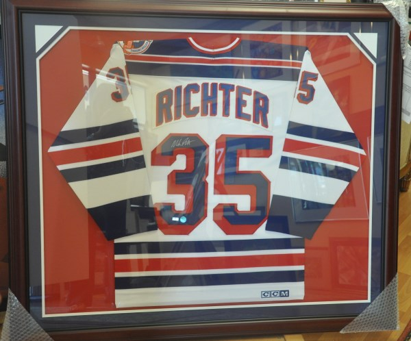Hockey jersey custom frame